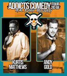 Addicts Comedy Tour logo