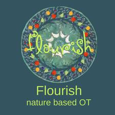 Flourish, nature based OT logo