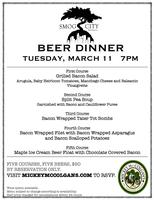 Mickey McColgan's and Smog City Brewing Beer Dinner
