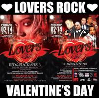 "LOVERS ROCK 6TH ANNUAL ""RED & BLACK"" AFFAIR"