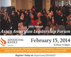 Join KACC for the 10th Annual AA Leadership Forum 2014...