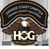 Orange Coast Harley Owners Group logo