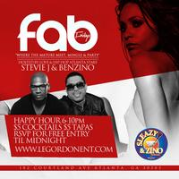 "Fab Friday Hosted By: Stevie J. & Benzino of ""Love &..."