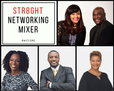 Str8ght Networking Mixer logo