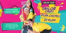 DREAM TOUR - TAYLOR CANIFF + DUDA CASTRO + DJ RUPP logo