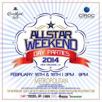 THE WEEKEND OF STARS ALL STAR *DAY* PARTIES W/ERICA...