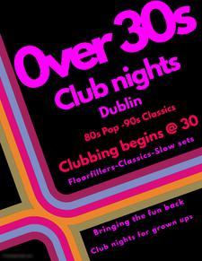 0ver 30s nights dublin  logo