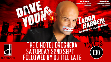 DAVE YOUNG – Laugh Harder!