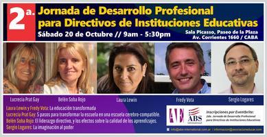 2da. Jornada de Desarrollo Profesional para Directivos de Instituciones Educativas