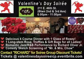 Valentine's Day Soirée @ TULSI! Night of Love to...