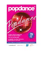 Popdance Classes - FREE 6 WEEK COURSE - BOREHAMWOOD