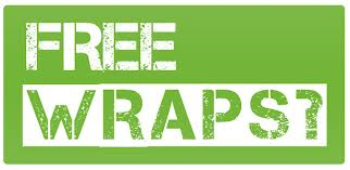 FREE Skinny Wrap ~ Here's to Your Health & Wealth...