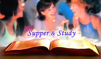 Supper & Study - Thursdays 6-8PM