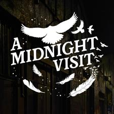 A MIDNIGHT VISIT - Journey to the edge of madness logo