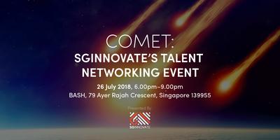 Comet: SGInnovate's Talent Networking Event