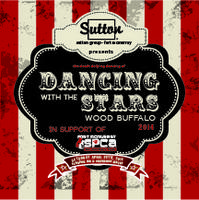Dancing with the Stars Wood Buffalo 2014 - in support...