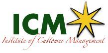Institute of Customer Management logo