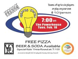 Genius Trivia: A Fundraiser for Lafayette County...