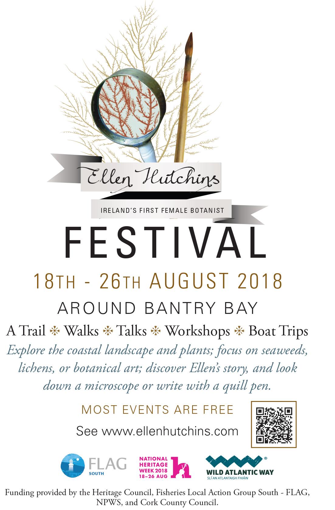 Ellen Hutchins Festival logo