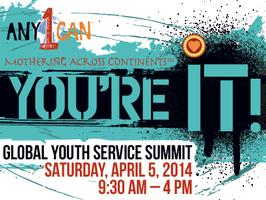 Any1Can: You're It! A Global Youth Service Summit