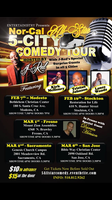 J-Red's 5 City All Star Comedy Tour