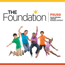 The Foundation for the Palm Springs Unified School District logo