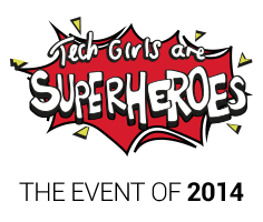 Tech Girls Are Superheroes Book Launch