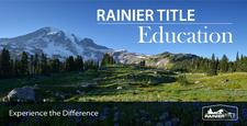 Rainier Title Education logo