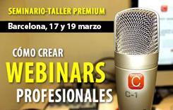 Seminario Premium: Producción de Webinars...