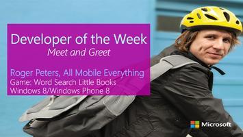 Developer of the Week - Roger Peters