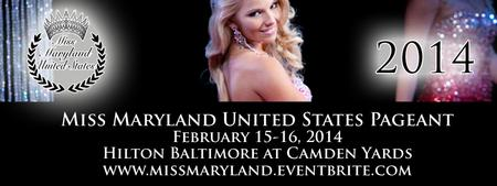 2014 Miss Maryland United States Pageants