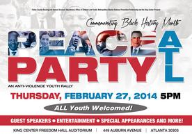PEACE PARTY ATL - Commemorating Black History Month