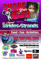 "Share Your Hair presents Strides For Strands, ""Walking..."