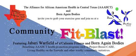 May 3rd Community Fit-Blast! - The Alliance for...