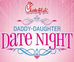 Chick-fil-A Lee Vista Daddy Daughter Date Night 2014