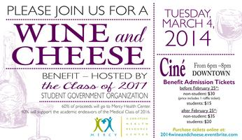 Second Annual Medical Partnership Wine and Cheese Benef...