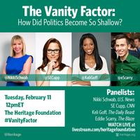 The Vanity Factor: How Did Politics Become So Shallow?