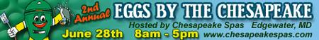 2nd Annual Eggs By the Chesapeake