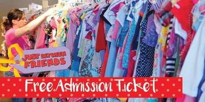FREE TICKET - JBF MEGA Kids' Consignment Sale - Fall...
