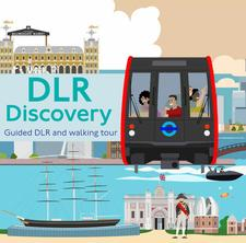 DLR Discovery - Explore East London by train logo