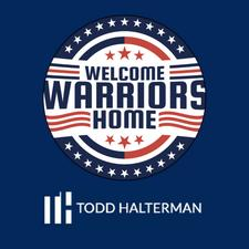 toddhalterman.com & Welcome Warriors Home logo