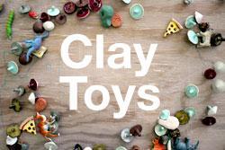 Family Saturday: Clay Toys