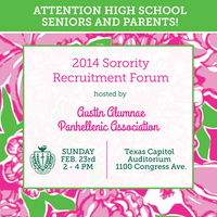 Sorority Recruitment Forum for High School Seniors &...