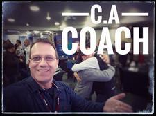 Cristiano Alexandre - C.A Coach logo