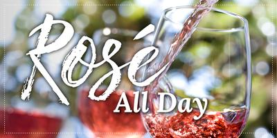 ROSÉ ALL DAY PATIO PARTY!
