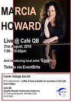MARCIA HOWARD - @ Cafe QB