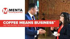 MENTA - Business Networking with Coffee Means Business  logo