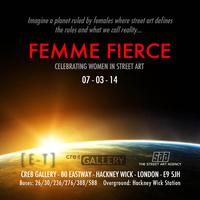 Femme Fierce Graffiti Workshop - Sunday 9th March -...