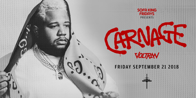 Carnage at Royale | 9.21.18 | 10:00 PM | 21+