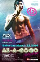 AX-A-GOGO SATURDAYS at the PHOENIX MARCH 22nd 2014